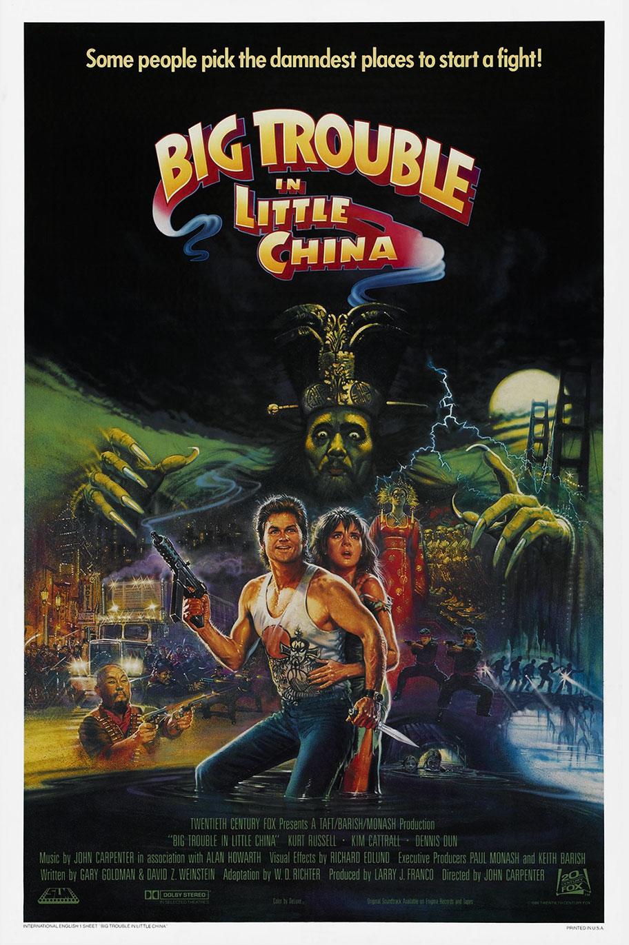 big trouble in little china download free movie